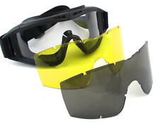 New Airsoft War Game USMC SWAT Outdoor Shooting Safety Protection Goggle Glasses