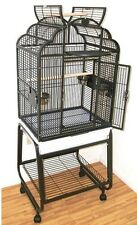 HQ PARROT BIRD CAGES GA92217-C Victorian Top22x17 with Cart Stand Top cage toys