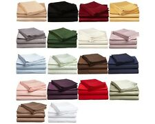 Luxe Collection Egyptian Cotton 300 Thread Count Solid Sheet Set