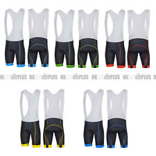 Bike Men Cycling Fashion Padded Bib Shorts Pant Outdoor Sport Wear Fit Tight