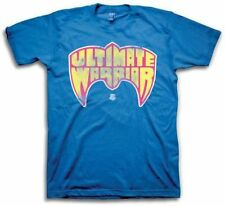 Ultimate Warrior WWE Blue Logo Mens T-shirt