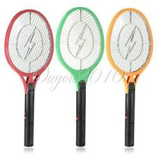 Electric Insect Bug Fly Mosquito Zapper Swatter Killer Net Racket Rechargeable