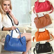 Fashion Korea Style Women Genuine Leather Handbag Shoulder Bag Satchel Tote Hobo