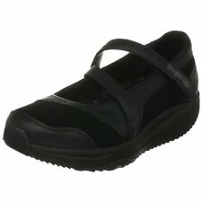 Womens Skechers Hyperactive Black Leather Shape Ups Toning Shoes Sizes 3 to 7