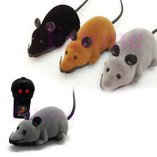 3 Colors Remote Control Electronic Wireless Rat Mouse Toy For Cat Pet Gift Funny