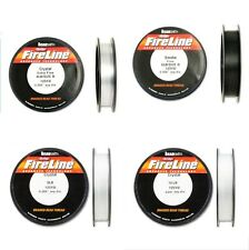 Fireline Two color Four size crystal Or smoke 4LB 6LB 8LB 10LB 125 Yard Spool