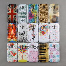 Hard Back Skin Case Cover f. Samsung Galaxy Trend Duos S7562 S7560 Creative Case