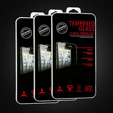 NEW Genuine Tempered Glass Screen Protector Film For Apple iPhone 4 4S 5 5S 5C