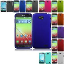 Rubberized Slim Hard Case Snap On Phone Cover For LG L90 / Optimus L90 T-Mobile