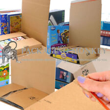 BOOK WRAP POSTAL CARDBOARD MAILING BOXES BUKWRAPS - ALL SIZES / QUANTITIES