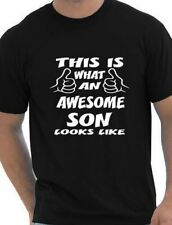 This Is What An Awesome Son Looks Like Mens T Shirt Size S-XXL