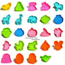 Chocolate Cake Fandant Decorating Plunger Cookie Cutter Mold Sugarcraft Tools