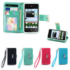 IZENGATE Wallet Flip Case PU Leather Cover for Huawei Ascend Plus H881C /Valiant
