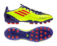 New Mens Adidas F10 MG Yellow Moulded Studs Football Boots Trainers Size 6-12 UK