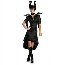 Disney's Maleficent 2014 Movie Christening Black Gown Glam Deluxe Adult Costume