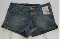 Southpole Juniors Mini Shorts Stretch Denim Blue Wash Several Sizes NWT