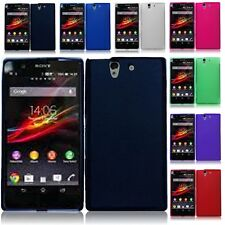 Color Flexible TPU Soft Gel Skin Case Phone Cover For Sony Xperia Z Yuga C6603