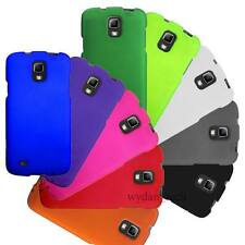 Hard Matte Rubberized 2-Piece Case Fitted Cover For Samsung Galaxy Phones