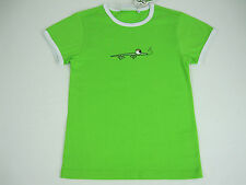 Children / Girls Gecko Classic Round Neck Tee T Shirt sizes 7  10 Colour Green