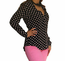 New Blouse Shirt Tops Long Sleeve Women Ladies Top Size 6 8 10 12 14 16 18 20 22
