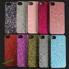 Multicolor Glitter Bling Back Case Cover Skin Protector For Apple iPhone 4/5S