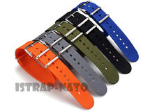 Premium Military watch band Nylon strap Bonded For ZULU Maratac 18mm 20mm 22mm