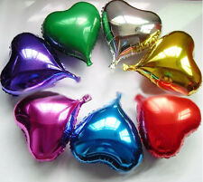 """Wholesale for 5PCS 18"""" Heart-shaped Helium Foil Balloons,Party&Holidays Supply"""