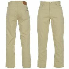 Pierre Cardin Mens Gents Bedford Cords Trousers Pants Zip Pockets Straight Cut