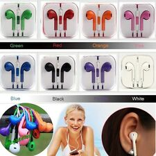 Control Remote Stereo Headset Earphone Volume Mic For Apple iPhone 5 5s 5c iPod