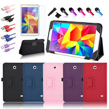 For Samsung Galaxy Tab 4 8.0 8-inch Tablet Leather Folio Cover Case/Accessories