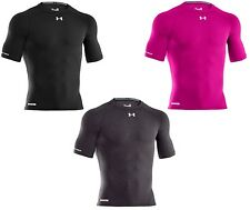 UNDER ARMOUR MEN'S HEATGEAR SONIC COMPRESSION 1/2 SLEEVE 1236228 MULTIPLE COLORS
