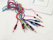 one 3.5mm Stereo Audio Aux Headphone Cable Extension Cord for iPhone iPod MP3