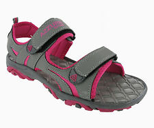 WOMENS CASUAL AZZURI SPORT SUMMER HOLIDAY OPEN TOE VELCRO SANDALS SHOES UK 3-7