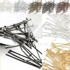 HOT 6 Colors Head/Ball Pins 21 Gauge Findings 14-70mm DIY Crafts Jewelry Making