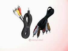 A/V 3 RCA Cable For TiVO & Roku LT/HD/XD/XS 1080p/XDS Digital HD Media Streamer