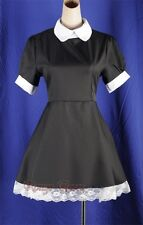 NEW Black Maid Alice in Wonderland Lolita Outfit Dress Size S-6XL RR 4166_black