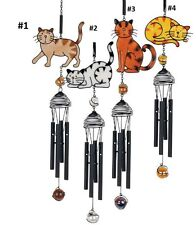 Wireworks Cat Wind Chimes by Carson Home Accents--Your Choice of Design