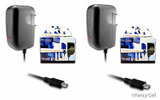 2 New Micro USB AC Universal Battery Travel Home Wall Charger for ZTE Cell Phone