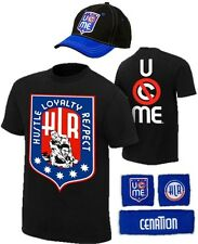 John Cena Mens HLR Costume Hat T-shirt Wristbands
