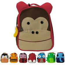 Children Kids Kindergarten Backpack School Lunch Bag Cute Animal