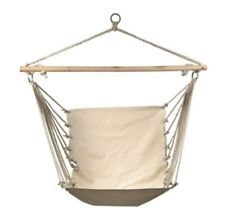 Hammock Swing Hanging Canvas Seat Outdoor Patio Tree Cushion Chair Camping Porch