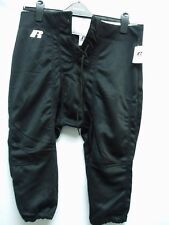 Mens Adult Football Pants Polyester Practice Black New