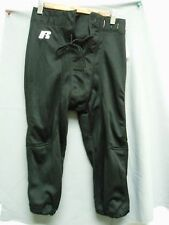 Mens Slotted Football Pants Black Polyester Practice New NWOT