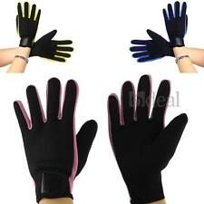 Pair 2.0mm Scuba Diving Gloves Velcro Snorkel Palm Surfing Water Sports