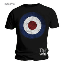 Official T Shirt THE WHO Vintage TARGET Distressed Logo All Sizes