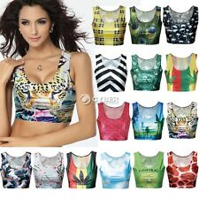 New Fashion Sexy Crop Tops Vest Midriff Shirt Blouse Tank Top Cami 15Color DZ88
