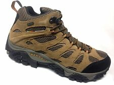 Merrell Moab Mid Waterproof Hiking Boot Mens Earth