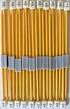 Childrens Pony Essential Plastic Knitting Needles 10 Pairs Sizes 3.25, 3.75, 4mm