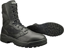New Mens Magnum Scorpion Black Leather Combat Police Army Nato Boots Size 4-14