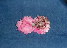 **NEW** Boho Chic Rose Flower Hair Head Band Shabbies - Includes choice of bands